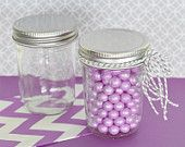 96 Mason Jars Wholesale Bulk with Lids - Little Mason Jars - Half Pint Mason Jar for Favors