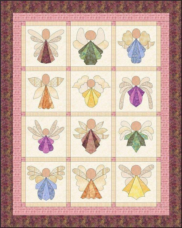 Angel quilt!