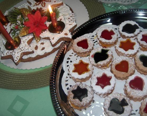 Vitrážové zdobenie drobného pečiva