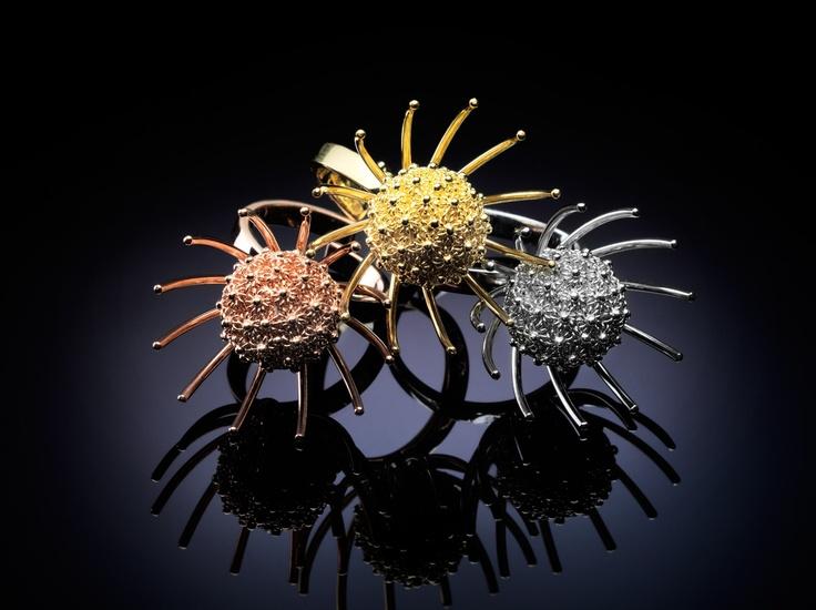 Cicuta rings. Always filigree handmade .