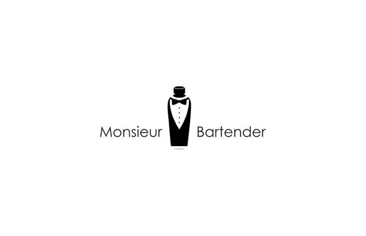 Monsieur Bartender Logo design