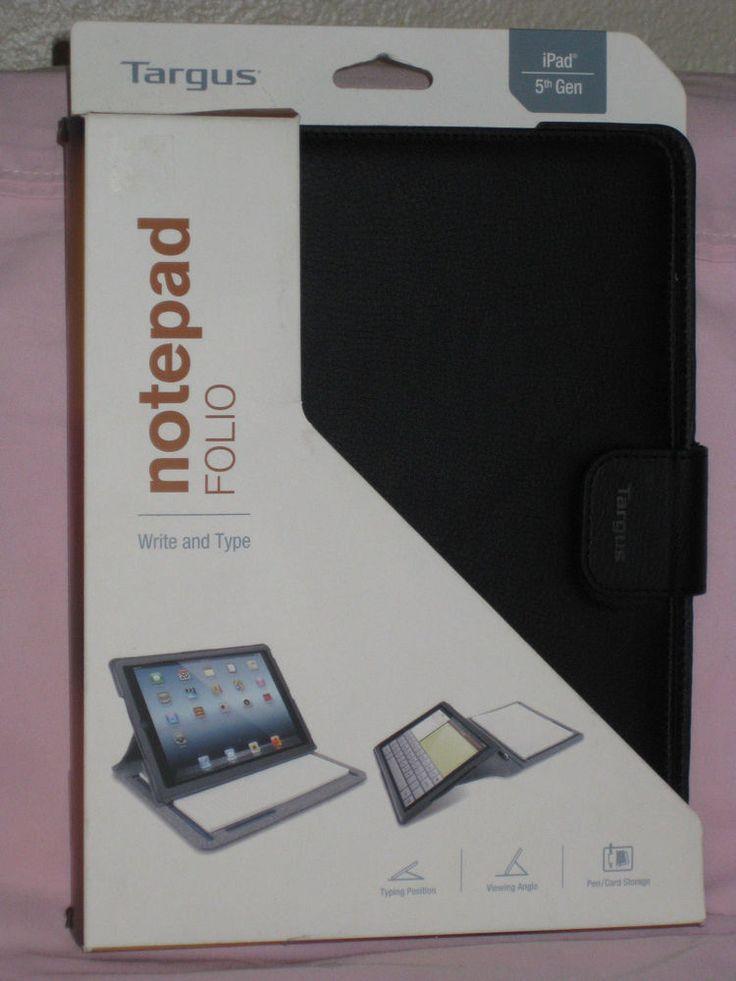 Targus Notepad Folio Case for iPad Air, Black (THZ187US)  #Targus