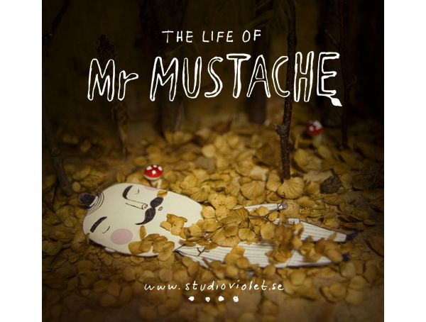 my friend and yours: mr mustache from studio violet