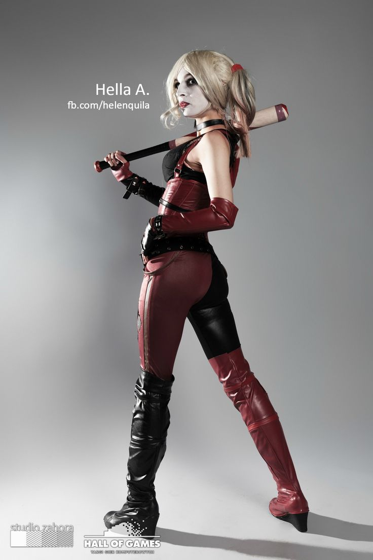 Harley's cosplay; FaceBook page : http://tiny.pl/gmn5p  Instagram -> @hella_a_oficiall #harley #quinn #batman #harleyquinn #arhkam #game #sexy #cosplay #dc #comics #dcuniverse #universe