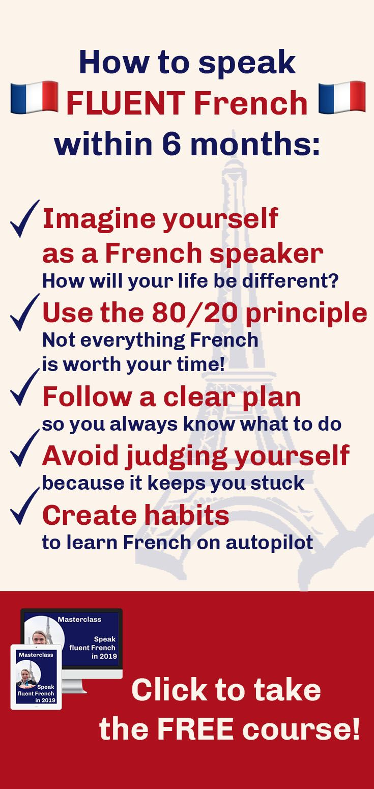 fastest way to learn french for free