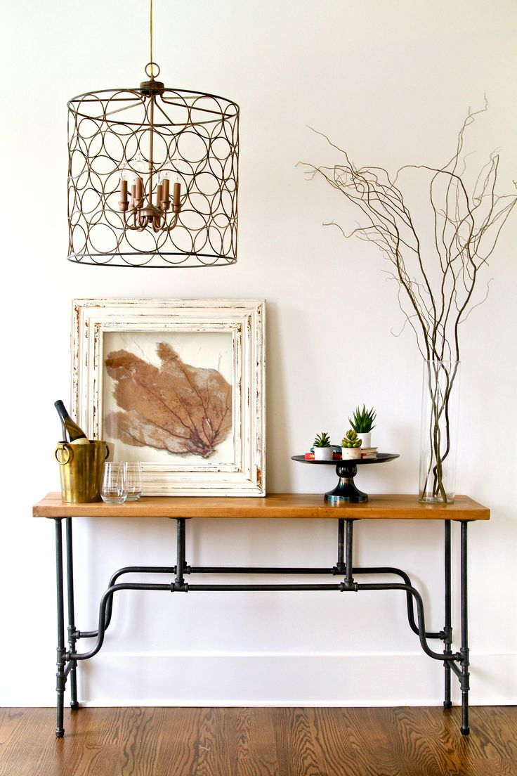 Industrial furniture sofa - The Kyle Console Table