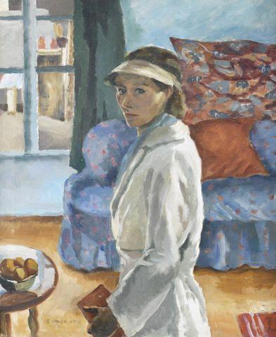 Maud Sumner (1902-1985) - The Painter (Self Portrait, Paris), 1938