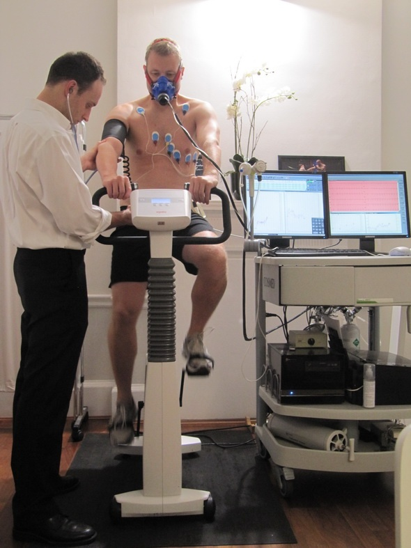 CPEX (Cardio-Pulmonary Exercise) test at 76 Harley Street, London (UK)