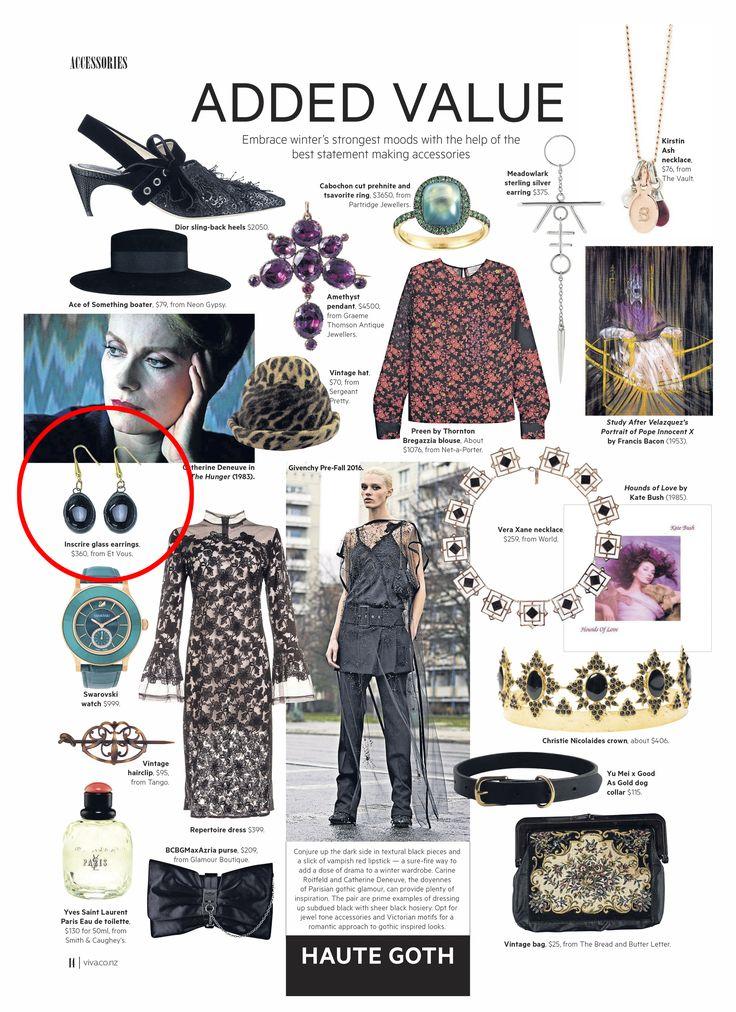 Viva Magazine Et Vous Inscrire Earrings
