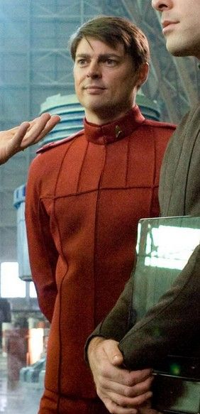 Dr. Leonard H. McCoy, as portrayed by Karl Urban. Still feeling the need to pin me some Trek...