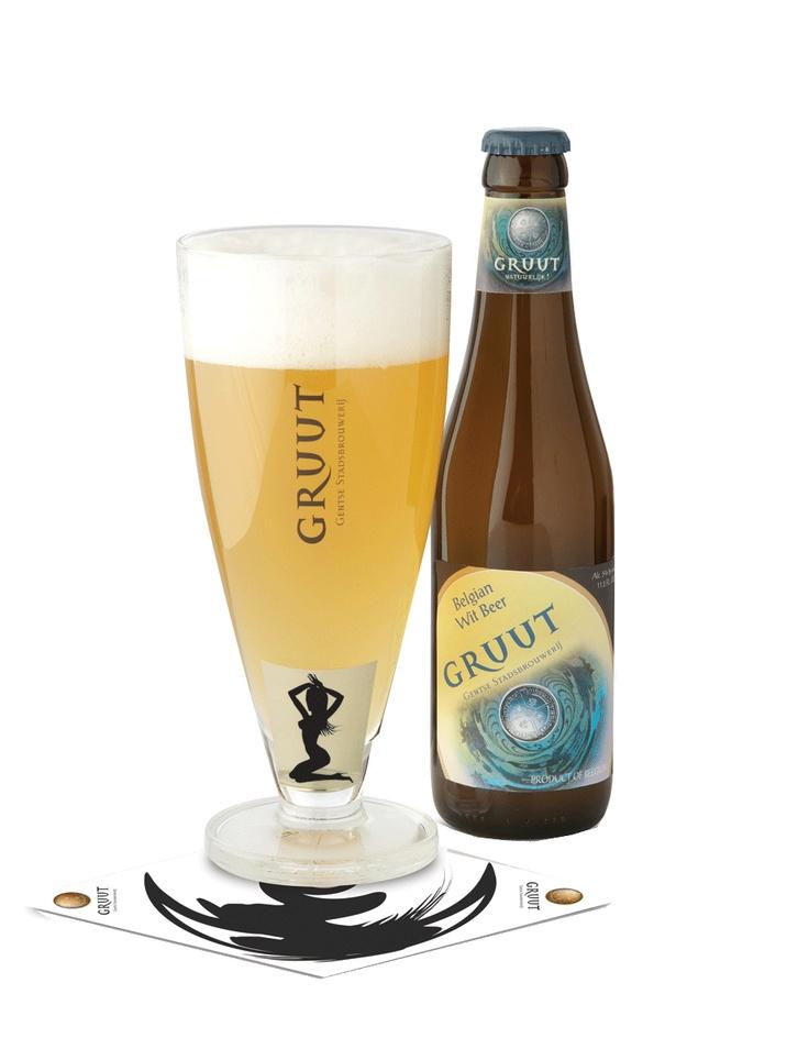 Gruut Wit, Gent Belgium, 5% 8/10