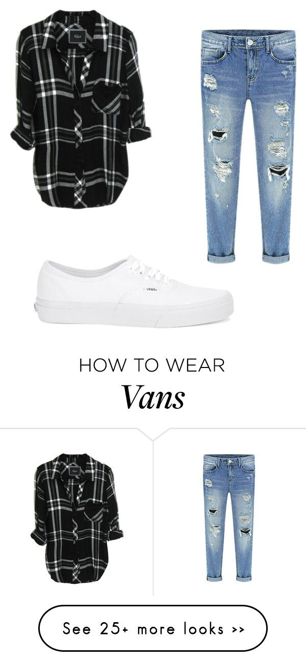 Best 25+ White vans outfit ideas on Pinterest | Black vans outfit Vans outfit and White old ...