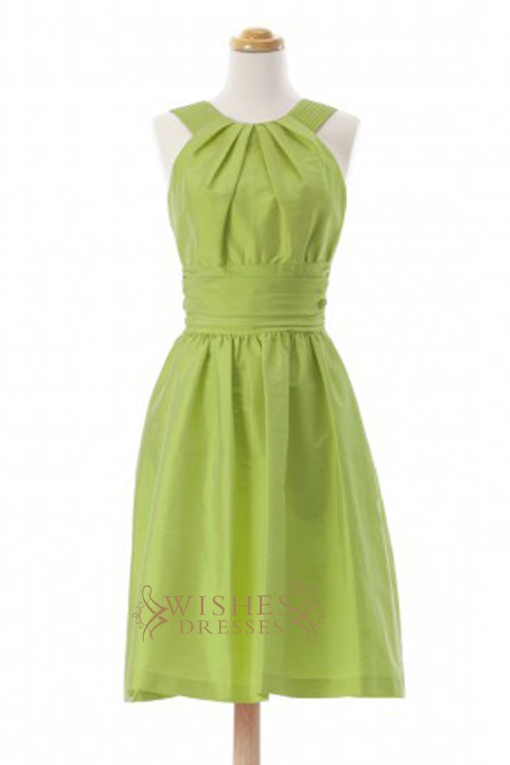 Best 25 lime green bridesmaid dresses ideas on pinterest clover a line lime green taffeta short bridesmaid dresses am366 ombrellifo Choice Image