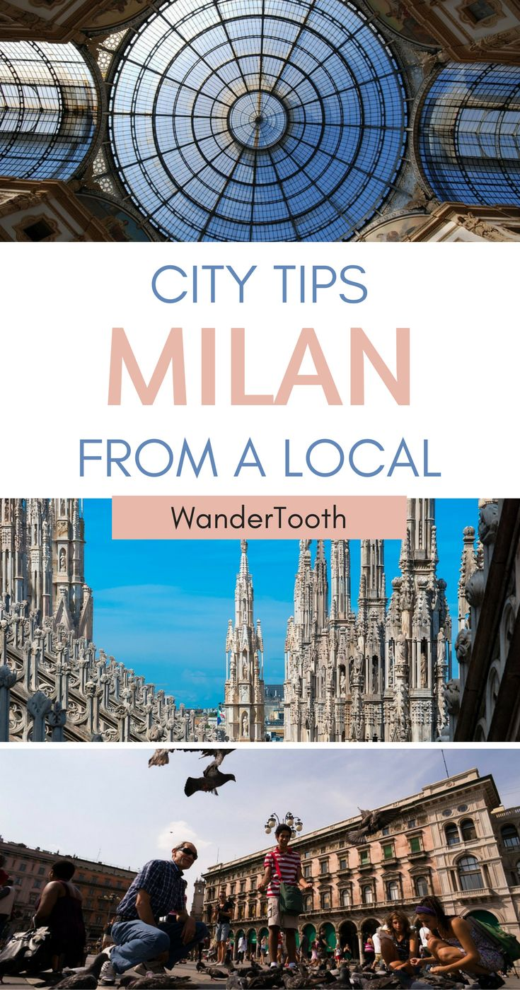 Things to Do in Milan. A Milan guide with some great tips and tricks from a local! | Milan Travel | What to do in Milan | Milan itinerary - @WanderTooth