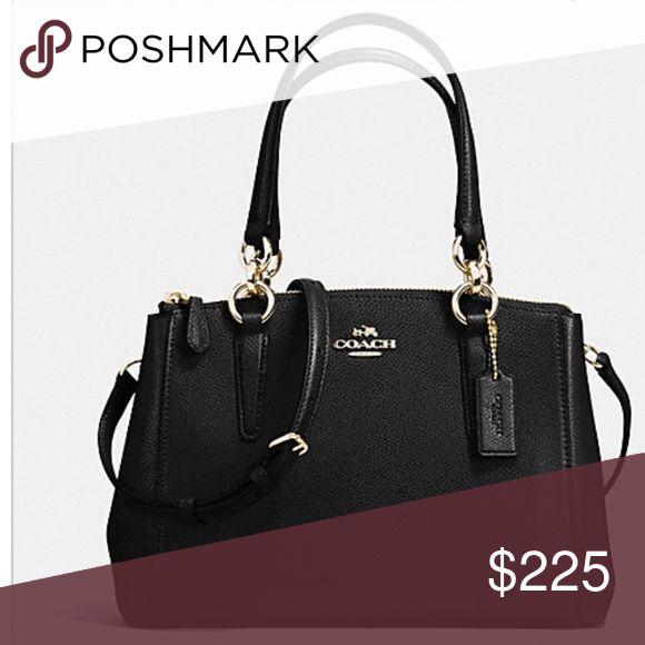 Black leather bag designer