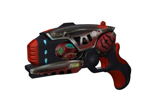 Wowwee Light Strike Striker With Mini Target - Red Pistol $23.00 #topseller