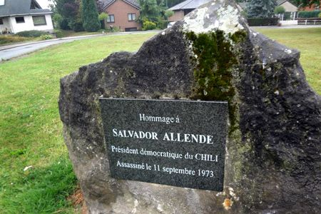 Square Salvador Allende. Seraing, Belgique