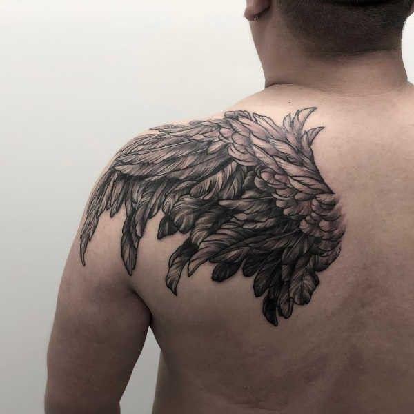 Vleugel Tattoo Betekenis En Oorsprong 80x Tattoo