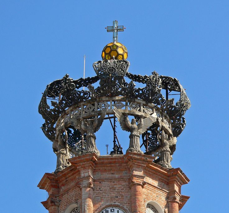 Top of the Puerto Vallarta Cathedral