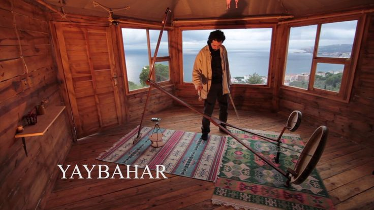 Yaybahar is an electric-free, totally acoustic instrument designed by Gorkem Sen. The vibrations from the strings are transmitted via the coiled springs to the frame…