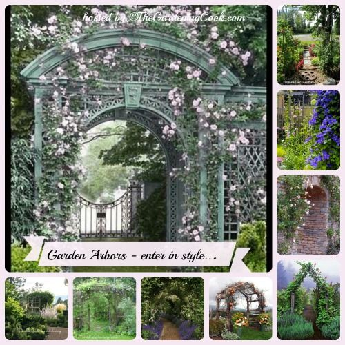 A Collection Of Garden Arbors