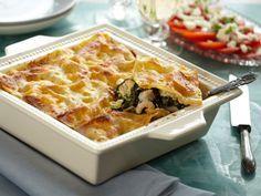 Der er ikke meget arbejde i denne lasagne, for langt det meste klares af ovnen