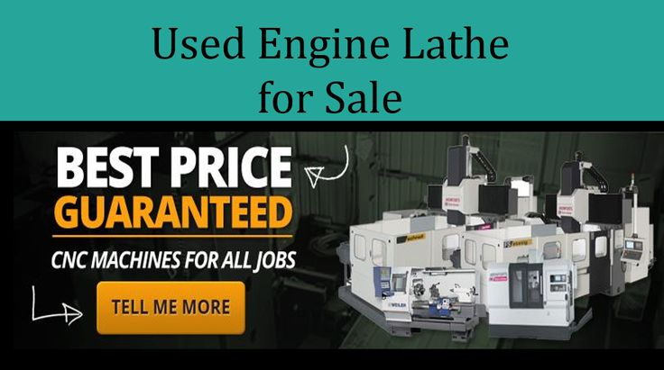 Used CNC lathes for sale can be purchased for a fraction of the cost if you are unable to raise enough funds to buy the new one. http://www.cluemachines.com/blog/used-cnc-lathes-for-sale.php
