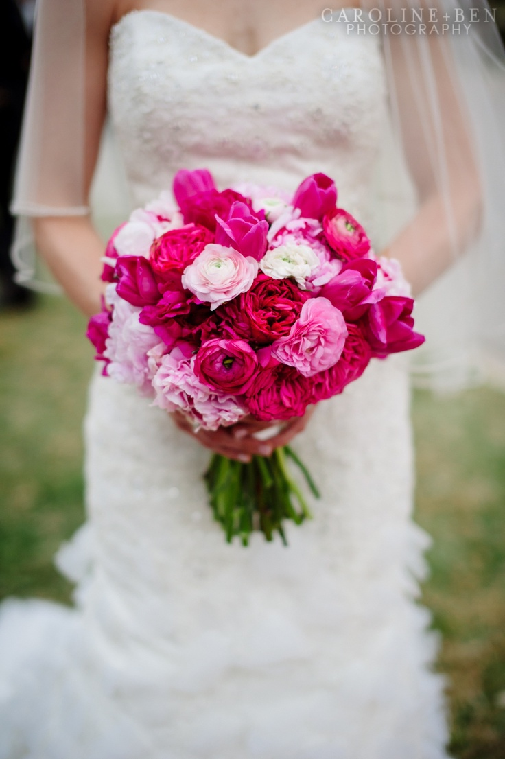 Red Garden Rose Bouquet 277 best pink & blush bouquets images on pinterest | bridal