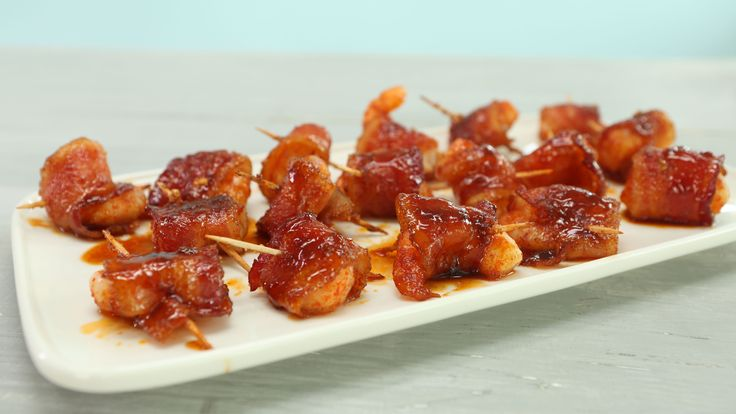 Spicy-Sweet Bacon Wrapped Shrimp                                                                                                                                                                                 More