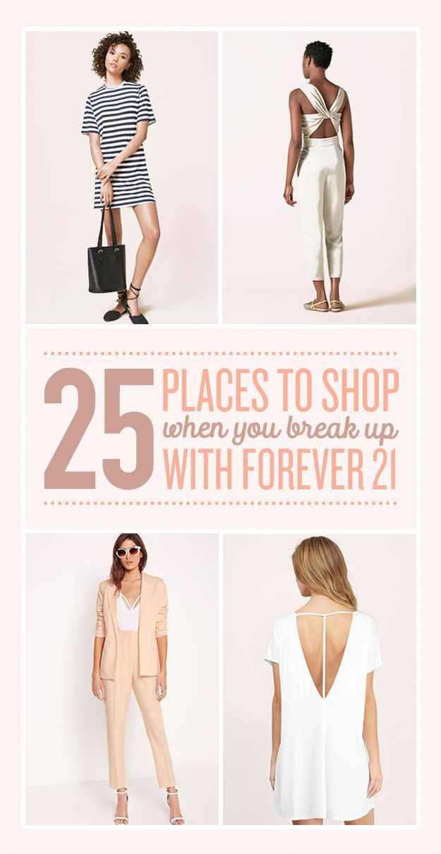 25 Places To Shop When You Break Up With Forever 21