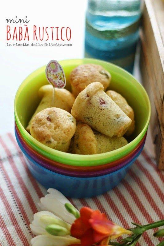 La ricetta della felicità: Mini Babà Rustici senza glutine: aperitivo o pic-nic?