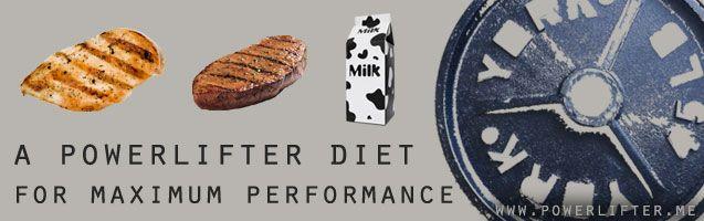 Powerlifter: A Powerlifter Diet for Maximum Performance
