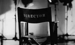 cadeira do diretor de cinema