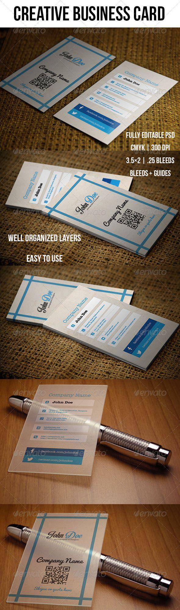92 best print templates images on pinterest printables script creative business card magicingreecefo Choice Image