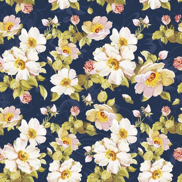 Papel de Parede Autocolante - Floral 108208349 » papel de parede para quarto