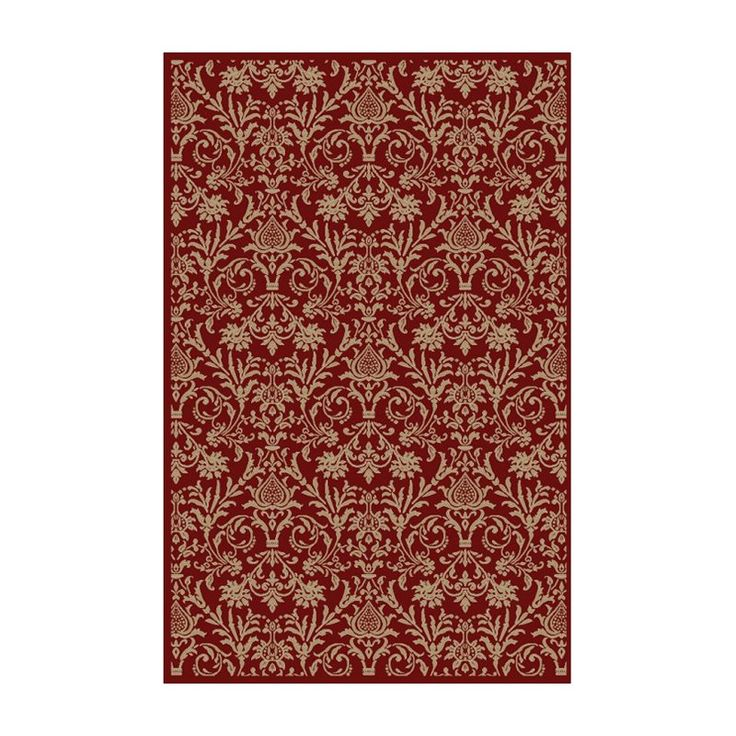 Concord Jewel Damask Rug | from hayneedle.com