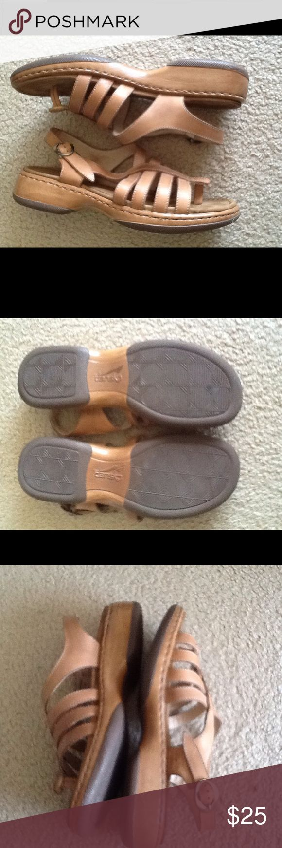 FLASH SALE SUPER CONFY DANSKO SANDALS LIKE NEW Great for traveling and lots of walking, this beautiful leather sandals are amazingly comfortable great for spring and summer. Dansko Shoes Sandals