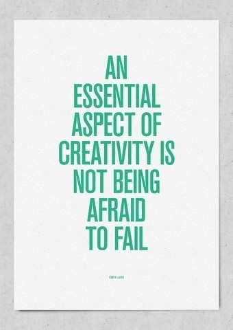Don't be afraid to fail!: Inspiration, Quotes, Fail, Afraid, Wisdom, Thought, Creativity
