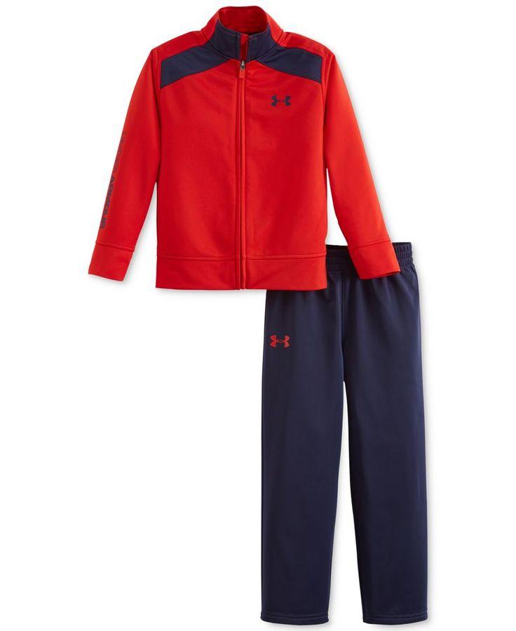 Under Armour Baby Boys' 2-Piece Warm-Up Jacket & Pants Set