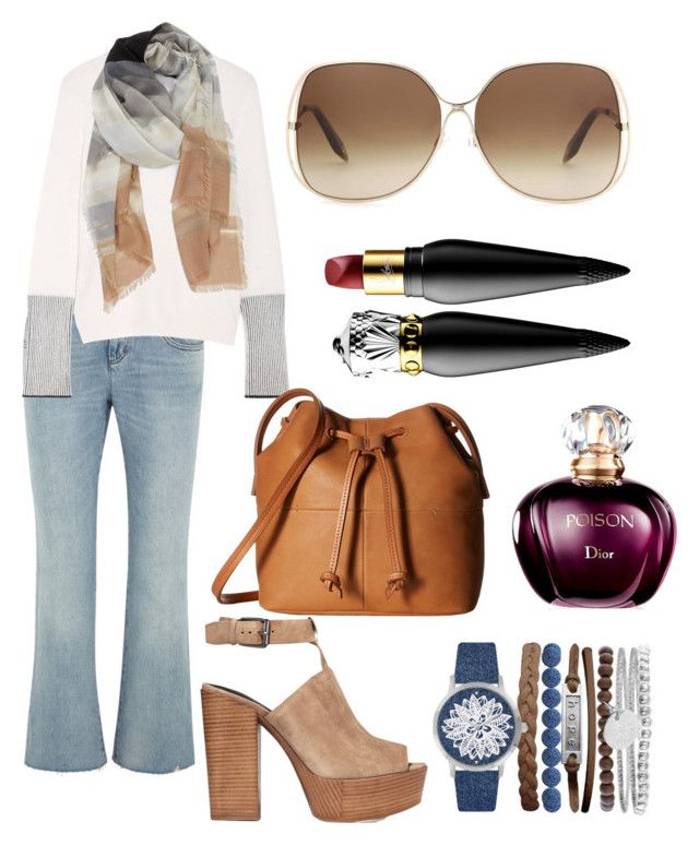 """Untitled #99"" by nenglita on Polyvore featuring Gucci, La Ligne, Rebecca Minkoff, ECCO, Nordstrom, Victoria Beckham, Jessica Carlyle and Christian Louboutin"