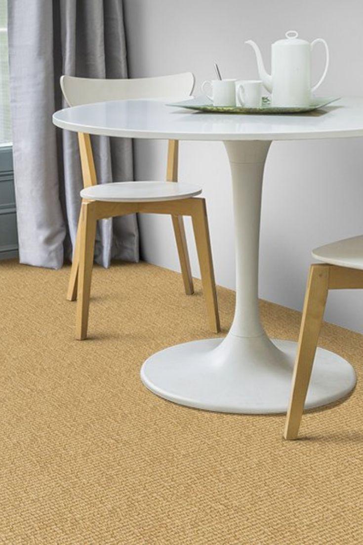 Best Coir Bouclé Bleached Carpet Grey Carpet Hallway Wool 400 x 300