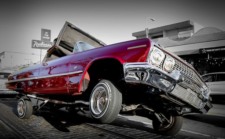 San Francisco Lowriders. Photo (c) Miikka Järvinen, 2014. Original gallery http://miikkajarvinen.wordpress.com/2014/07/09/sf_lowriders/