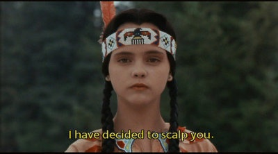 wednesday aka a younge cristina Ricchi: Families Values, Adam Families, Addams Family, Movie Character, Funny, Movie Quotes, The Addams Families, Wednesday Addams, Christina Ricci
