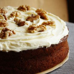 Cake1: Carrot Cake. Six cakes, two days. Putting Mary Berry's recipes to the test.