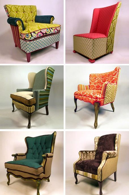 Gorgeous upcycled furniture by Shawna Robinson