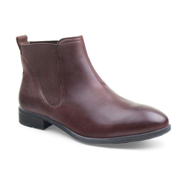 Eastland Brandi Women's Leather Chelsea Boots, Size: medium (9.5), Dark Beige