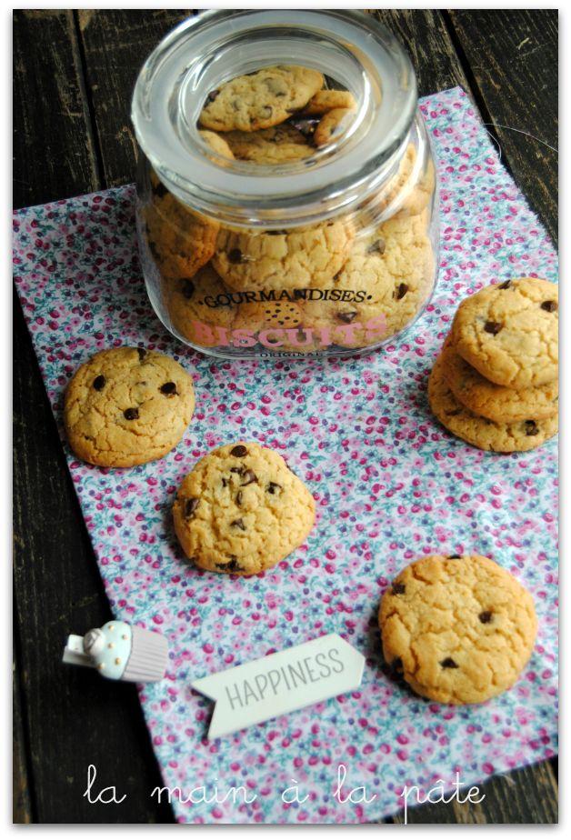 Cookies américains {avec ou sans thermomix}