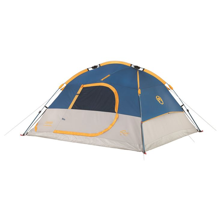 Coleman Tent 4P Flatiron Instant Dome Black  sc 1 st  Pinterest & Best 25+ Coleman tent ideas on Pinterest | 6 person tent Big tent ...