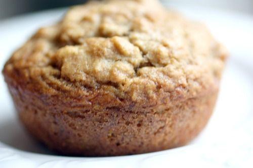 Oatmeal banana muffin