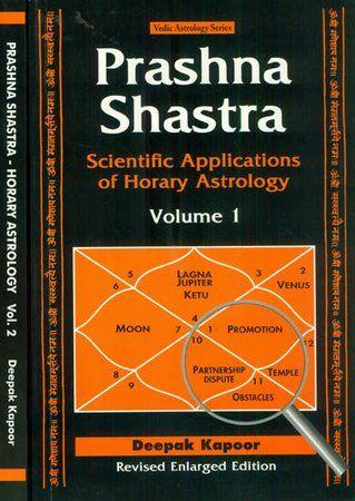 Prashna Shastra: Scientific Applications of Horary Astrology (Set of 2 Volumes) by Deepak Kapoor